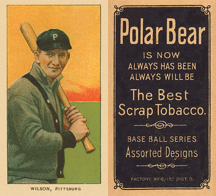 1909 White Borders (Polar Bear) Owen Wilson #516 Baseball Card