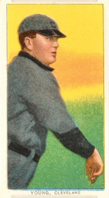 1909 White Borders (Sovereign) Cy Young #522 Baseball Card