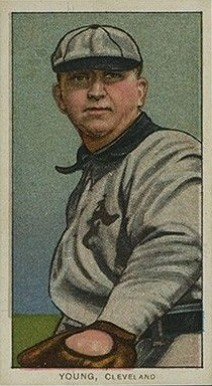 1909 White Borders (Tolstoi) Cy Young #521 Baseball Card