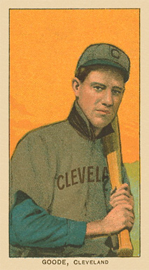 1909 White Borders Ghosts, Miscuts & Oddities Goode, Cleveland #190 Baseball Card