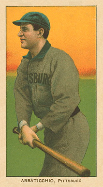 1909 T206 White Borders (Ghosts, Miscuts & Oddities) Ed Abbaticchio #2 Baseball Card
