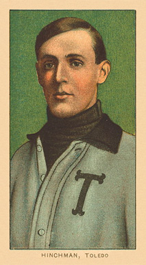 1909 White Borders Ghosts, Miscuts, Proofs, Blank Backs & Oddities Hinchman, Toledo #214 Baseball Card