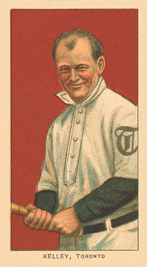 1909 White Borders Ghosts, Miscuts, Proofs, Blank Backs & Oddities Kelley, Toronto #249 Baseball Card