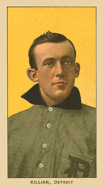1909 White Borders Ghosts, Miscuts, Proofs, Blank Backs & Oddities Killian, Detroit #252 Baseball Card
