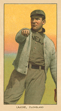 1909 White Borders Ghosts, Miscuts, Proofs, Blank Backs & Oddities Lajoie, CLeveland #270 Baseball Card