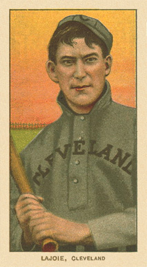 1909 White Borders Ghosts, Miscuts, Proofs, Blank Backs & Oddities Lajoie, CLeveland #271 Baseball Card
