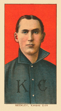 1909 White Borders Ghosts, Miscuts, Proofs, Blank Backs & Oddities Beckley, Kansas City #29 Baseball Card
