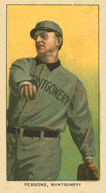 1909 White Borders Ghosts, Miscuts, Proofs, Blank Backs & Oddities Persons, Montgomery #387 Baseball Card