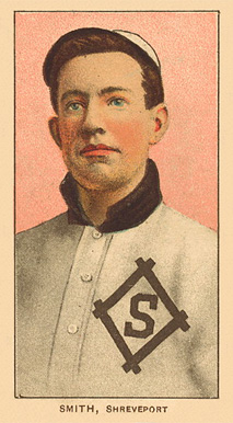 1909 White Borders Ghosts, Miscuts, Proofs, Blank Backs & Oddities Smith, Shreveport #446 Baseball Card