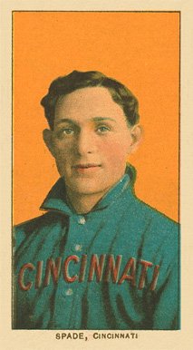 1909 White Borders Ghosts, Miscuts, Proofs, Blank Backs & Oddities Spade, Cincinnati #455 Baseball Card