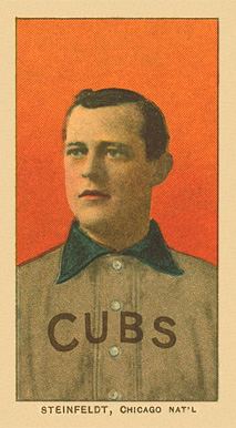 1909 White Borders Ghosts, Miscuts, Proofs, Blank Backs & Oddities Steinfeldt, Chicago Nat'L #463 Baseball Card