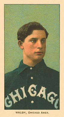 1909 T206 White Borders (Ghosts, Miscuts & Oddities) Ed Walsh #499 Baseball Card