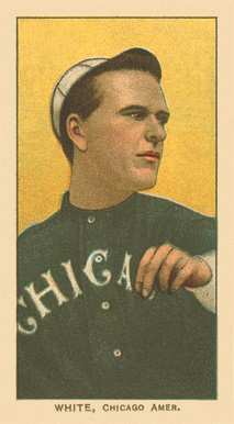 1909 White Borders Ghosts, Miscuts, Proofs, Blank Backs & Oddities White, Chicago Amer. #504 Baseball Card