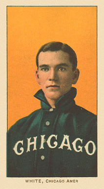 1909 White Borders Ghosts, Miscuts, Proofs, Blank Backs & Oddities White, Chicago Amer. #505 Baseball Card