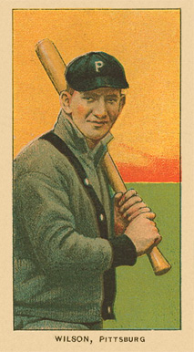 1909 T206 White Borders (Ghosts, Miscuts & Oddities) Owen Wilson #516 Baseball Card