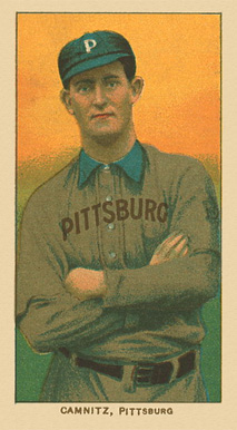 1909 White Borders Ghosts, Miscuts, Proofs, Blank Backs & Oddities Camnitz, Pittsburgh #69 Baseball Card