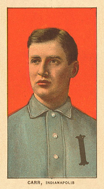 1909 White Borders Ghosts, Miscuts, Proofs, Blank Backs & Oddities Carr, Indianapolis #73 Baseball Card