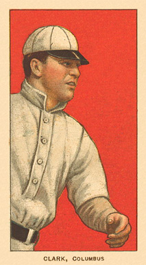 1909 White Borders Ghosts, Miscuts, Proofs, Blank Backs & Oddities Clark, Columbus #90 Baseball Card