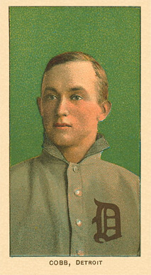 1909 White Borders Ghosts, Miscuts, Proofs, Blank Backs & Oddities Cobb, Detroit #95 Baseball Card
