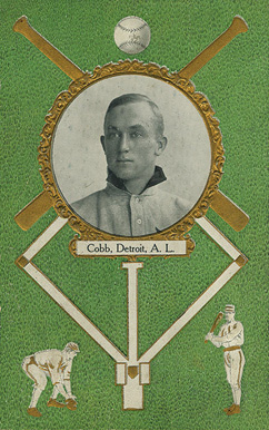 1908 Rose Company Postcards Ty Cobb #34 Baseball Card