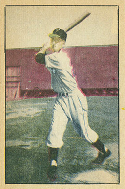 1952 Berk Ross Don Mueller #44 Baseball Card