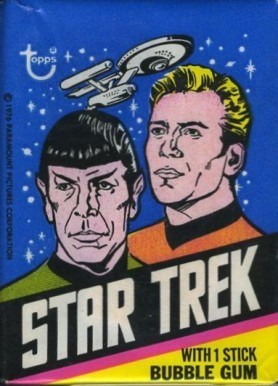 1976 Star Trek  Wax Pack #WP Non-Sports Card
