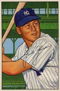 1952 Bowman Jackie Jensen 161 Baseball Vcp Price Guide