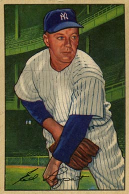 1952 Bowman Ed Lopat #17 Baseball Card