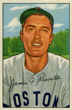 1952 Bowman Jim Piersall #189 Baseball Card