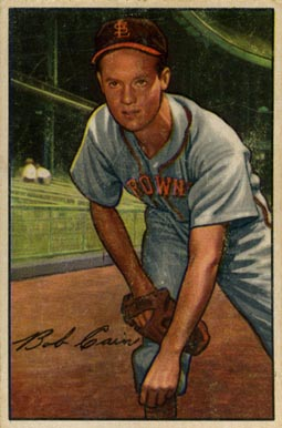 1952 Bowman Bob Cain #19 Baseball Card