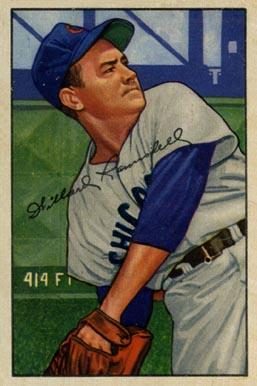 1952 Bowman Willard Ramsdell #22 Baseball Card