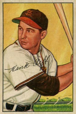 1952 Bowman Hank Arft #229 Baseball Card