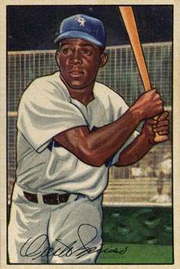 1952 Bowman Minnie Minoso #5 Baseball Card