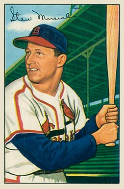 1952 Bowman Stan Musial #196 Baseball Card