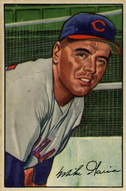 1952 Bowman Mike Garcia #7 Baseball Card
