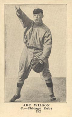 1917 Weil Baking Co. Art Wilson #192 Baseball Card