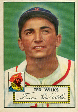 1952 Topps Ted Wilks #109 Baseball Card