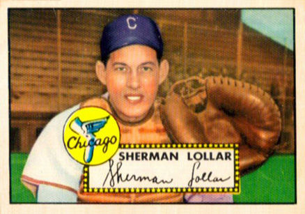 1952 Topps Sherman Lollar #117 Baseball Card