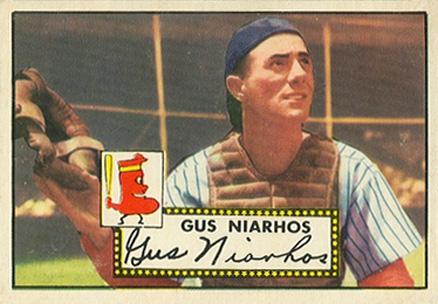 1991 Topps Archives 1953 #63 Gus Niarhos Near Mint//Mint