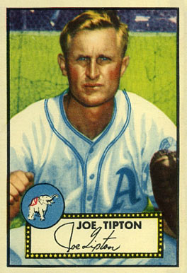 1952 Topps Joe Tipton #134 Baseball Card
