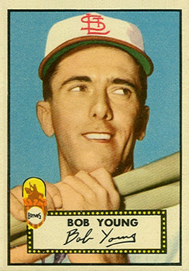 1952 Topps Bobby Young #147 Baseball Card