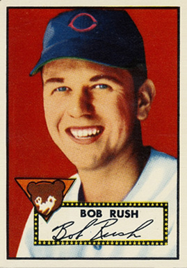 1952 Topps Bob Rush #153 Baseball Card