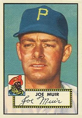 1952 Topps Joe Muir #154 Baseball Card