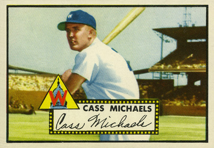 1952 Topps Cass Michaels #178 Baseball Card