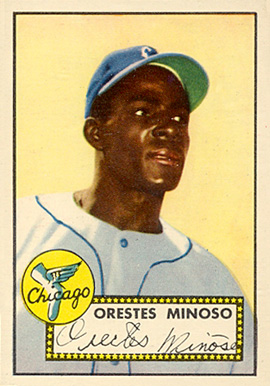 1952 Topps Minnie Minoso #195 Baseball Card