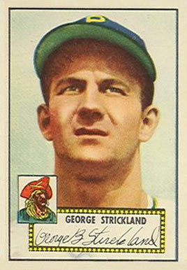 1952 Topps George Strickland #197 Baseball Card