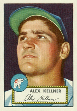 1952 Topps Alex Kellner #201 Baseball Card