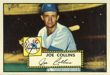 1952 Topps Joe Collins #202 Baseball Card
