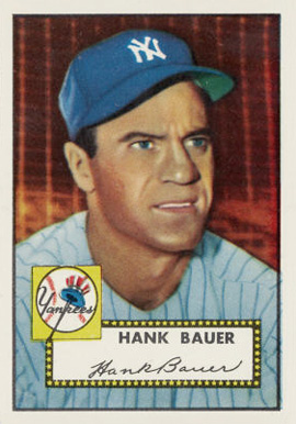 1952 Topps Hank Bauer #215 Baseball Card