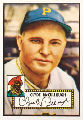 1952 Topps Clyde McCullough #218 Baseball Card